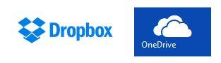 Dropbox Onedrive
